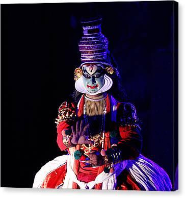 Canvas Print - The Kathakali Dance by Money Sharma