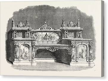 The Kenilworth Buffet Canvas Print by Messrs. Cookes, English, 19th Century