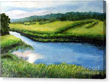 The Kennebecasis River Canvas Print