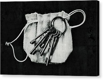The Keys Canvas Print by Marco Oliveira