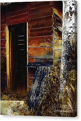 The Killing Shed Canvas Print by RC DeWinter