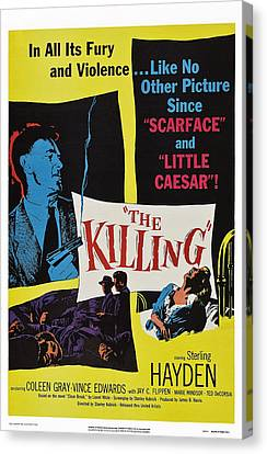 The Killing, Us Poster Art, Sterling Canvas Print by Everett