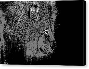 The King Canvas Print by Dan Sproul