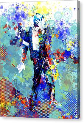 The King Canvas Print by Bekim Art