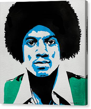 The King Of Pop. Canvas Print