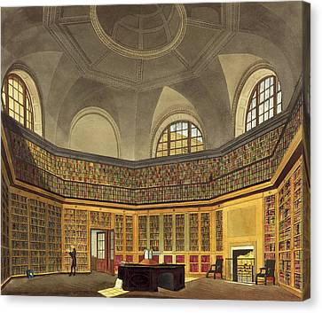 The Kings Library Canvas Print