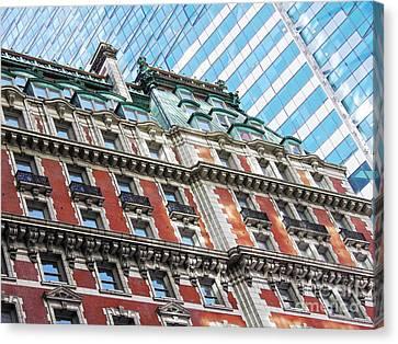 The Knickerbocker Hotel Canvas Print by Sarah Loft