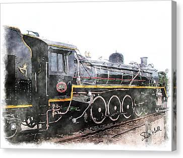 The Knysna Train Canvas Print
