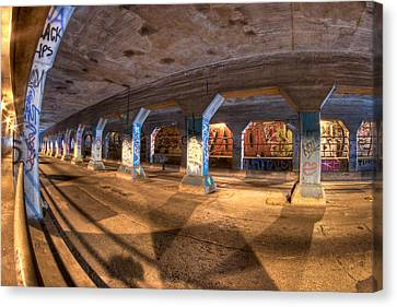 The Krog Street Tunnel Canvas Print