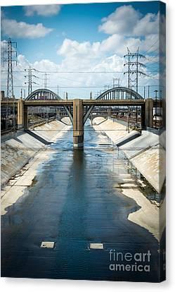 The La River Canvas Print