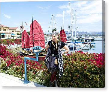 The Lady Pirate Canvas Print by The Lady Pirate