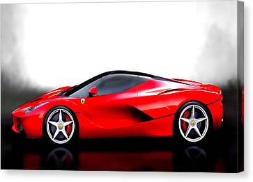 The Laferrari Canvas Print by Brian Reaves