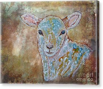 the Lamb Canvas Print by Ella Kaye Dickey