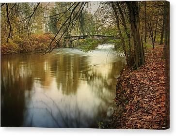 The Lambro River Canvas Print by Alfio Finocchiaro