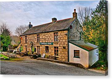 Kernow Canvas Print - The Lamorna Wink by Chris Thaxter