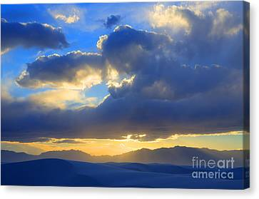 The Land Of Enchantment Canvas Print by Bob Christopher