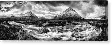 The Land Of Giants Canvas Print by John Farnan