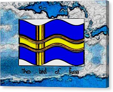 The Land Of Ikea Canvas Print