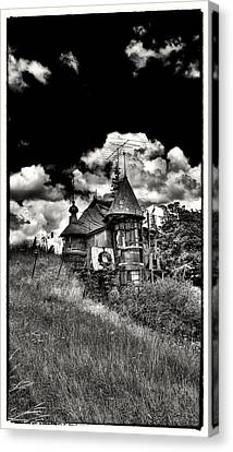 The Land Of Oz Is In The Palouse Canvas Print by David Patterson