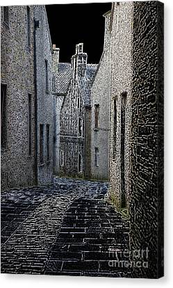The Lane Canvas Print by Lynne Sutherland