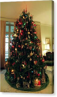 Canvas Print - The Lane's Christmas Tree by Harold E McCray