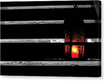 The Lantern Canvas Print by Marwan Khoury