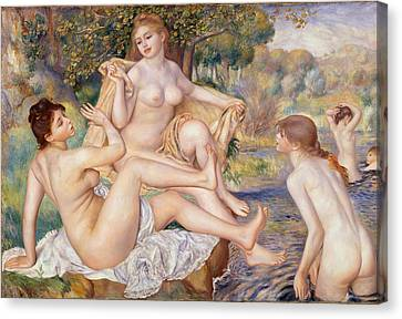 The Large Bathers Canvas Print by Georgia Fowler