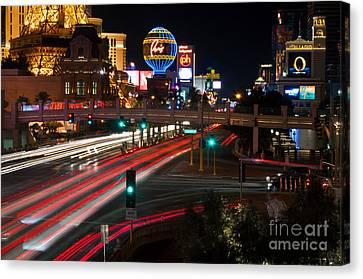 The Las Vegas Strip Canvas Print by Eddie Yerkish