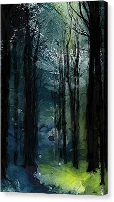 The Last Days Of Green Canvas Print by Steve K