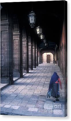 The Last Journey San Miguel De Allende Canvas Print by John  Mitchell