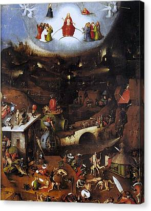 The Last Judgment - Central Panel Canvas Print