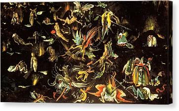 The Last Judgment Canvas Print