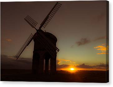 The Last Light Of The Day Canvas Print by Chris Fletcher