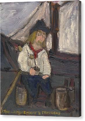 The Last Of Barrett's Privateers Canvas Print