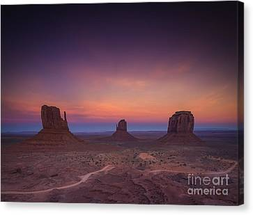The Last Of Daylight Canvas Print by Marco Crupi