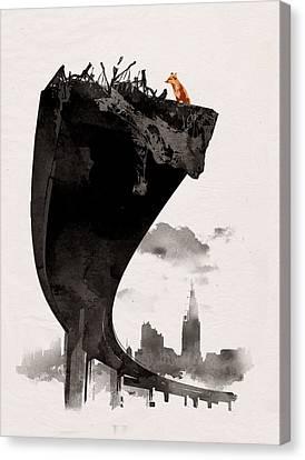 The Last Of Us Canvas Print