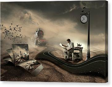 The Last Passenger Canvas Print