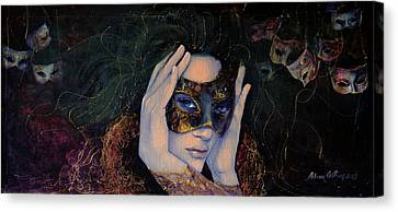 The Last Secret Canvas Print by Dorina  Costras