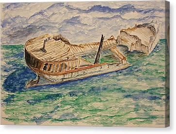 The Last Storm Canvas Print by Paul Morgan