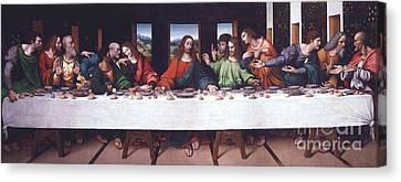 The Last Supper - After Da Vinci Canvas Print
