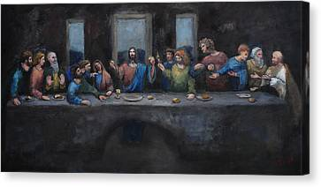The Last Supper Canvas Print by Carole Foret