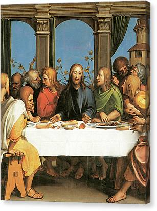 The Last Supper Canvas Print by Hans Holbein the Younger