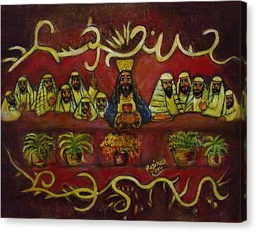 The Last Supper Canvas Print by Regina Brandt