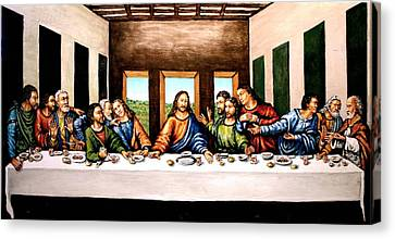 The Last Supper Canvas Print by Todd Spaur