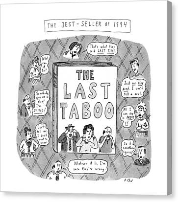 The Last Taboo Canvas Print by Roz Chast