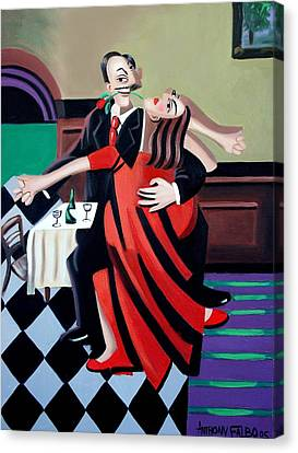 The Last Tango Canvas Print by Anthony Falbo