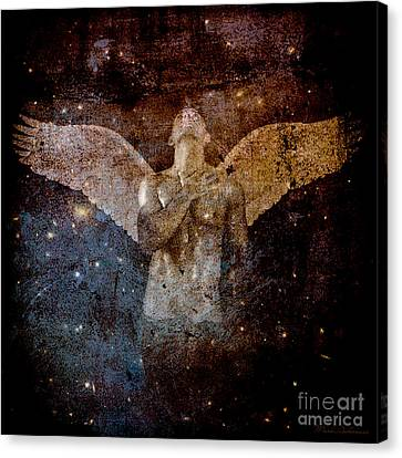 Human Beings Canvas Print - The Last Angel  by Mark Ashkenazi