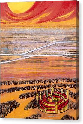 The Last Town, 2006 Canvas Print