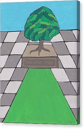 The Last Tree Canvas Print by Barbara St Jean