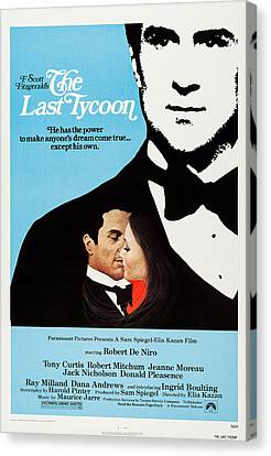The Last Tycoon, Top And Bottom Left Canvas Print by Everett